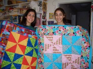Sisters Make Quilts!